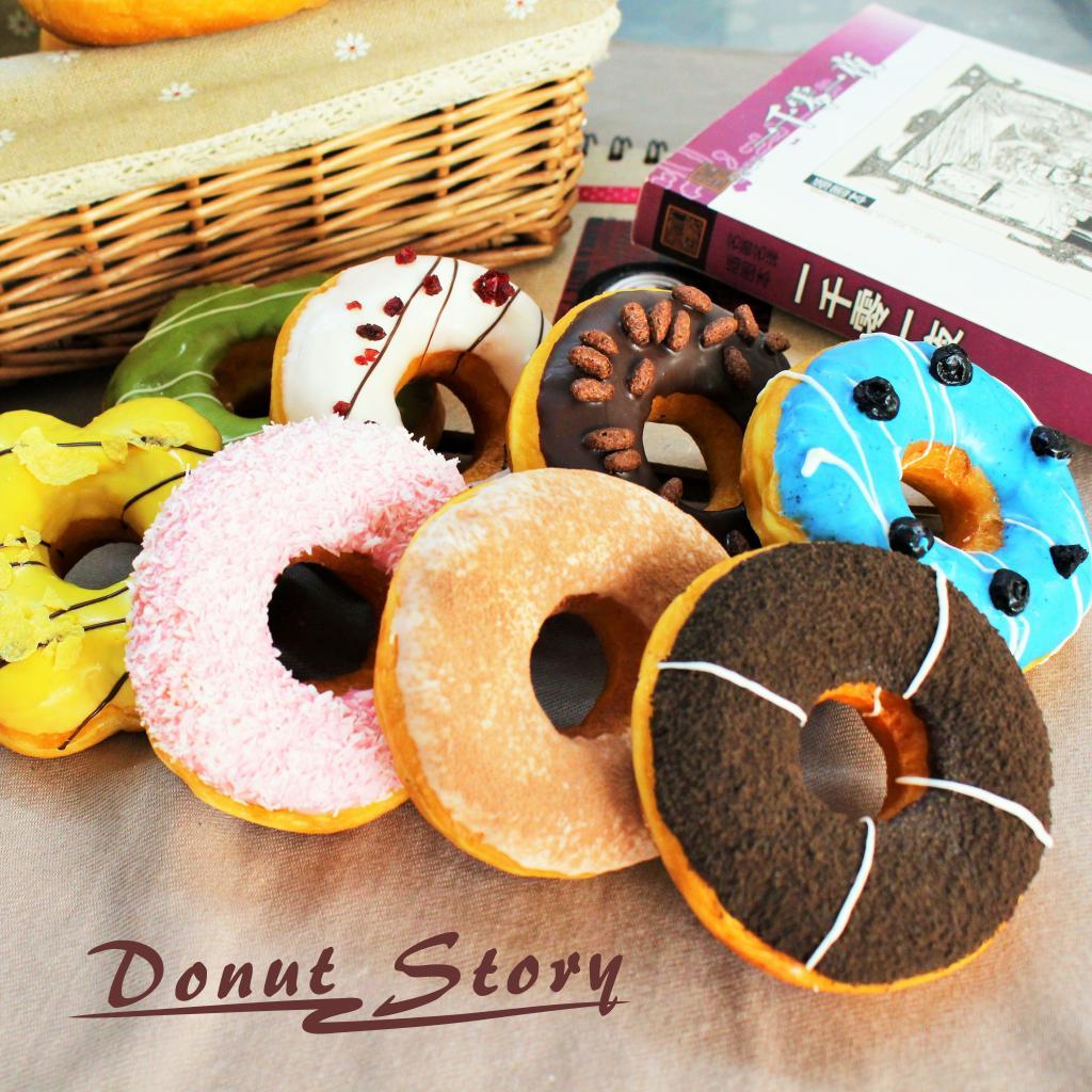 包邮多拿物语软面包手工甜品礼盒甜甜圈8个下午茶点心零食糕点